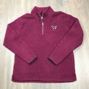VS PINK Fuzzy Fleece Pullover Sweater